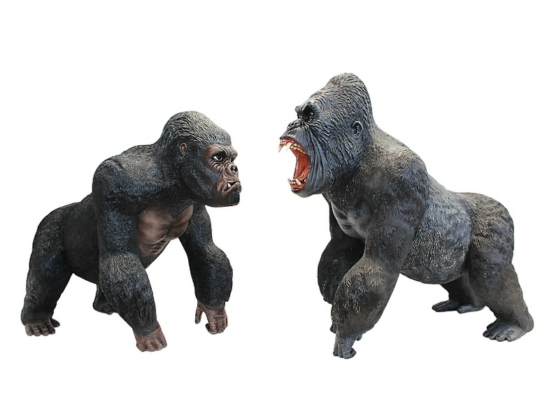 144_LIFE_LIKE_PAIR_OF_SILVER_BACK_MALE_GORILLAS.JPG