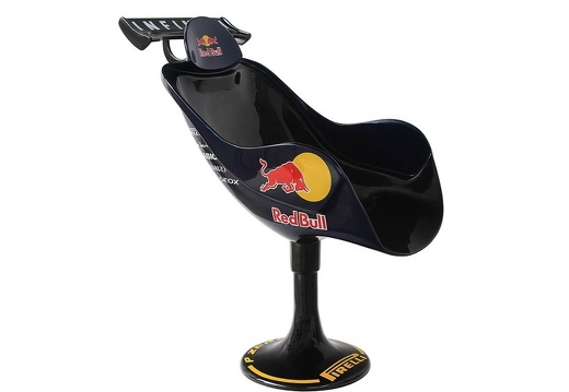 06 RED BULL FORMULA ONE CAR SWIVEL OFFICE CHAIR 2