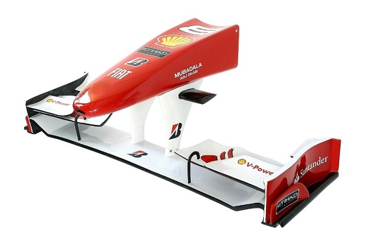 08 FULL SIZE FORMULA ONE NOSE CONE WALL MOUNTED