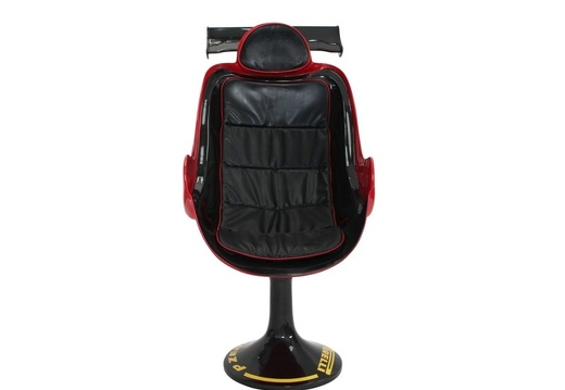 14 RACING CAR SEAT SWIVEL OFFICE CHAIR ANY RACING TEAM PAINTED 1