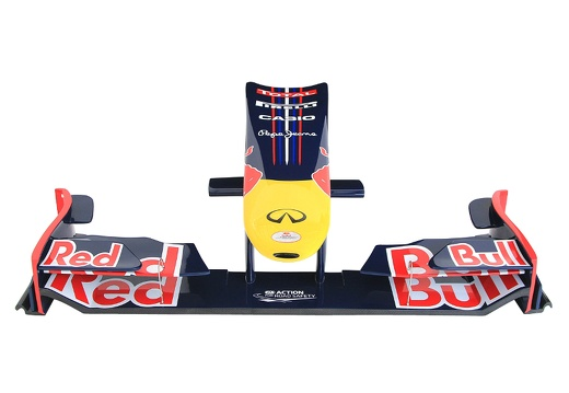18 FULL SIZE RED BULL FORMULA ONE NOSE CONE WALL MOUNTED 1
