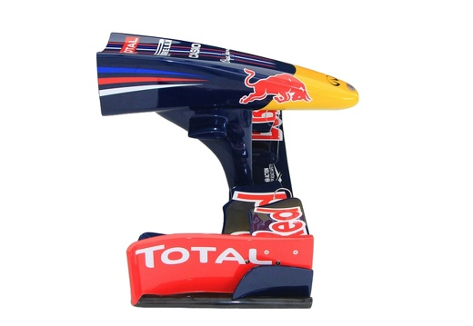 18 FULL SIZE RED BULL FORMULA ONE NOSE CONE WALL MOUNTED 2