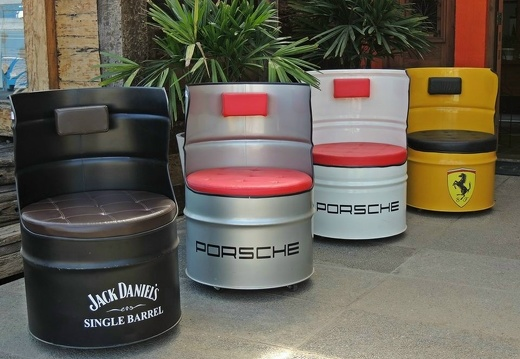 2020250 DRUM CHAIR SEATS ANY COLOUR ANY LOGO PAINTED 2