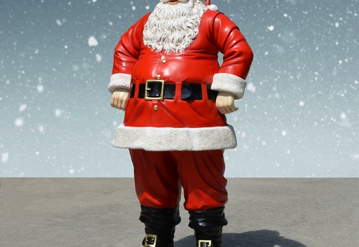 1573 FATHER CHRISTMAS STATUE 6 FOOT TALL 2