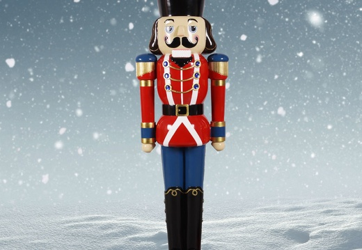 1575 12 FOOT TALL RED CHRISTMAS NUTCRACKER TOY SOLDIER 2