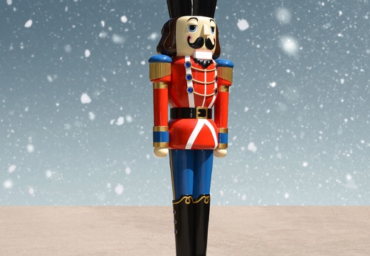 1575 12 FOOT TALL RED CHRISTMAS NUTCRACKER TOY SOLDIER 3