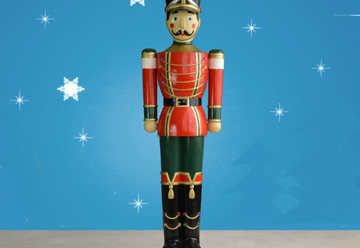 1582 6 FOOT TALL CHRISTMAS NUTCRACKER TOY SOLDIER 1