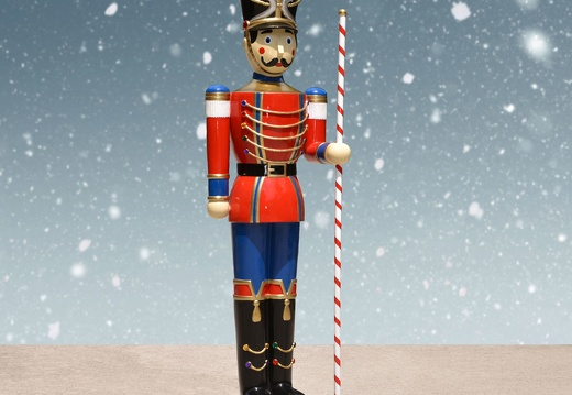 1583 6 FOOT TALL CHRISTMAS NUTCRACKER TOY SOLDIER 2