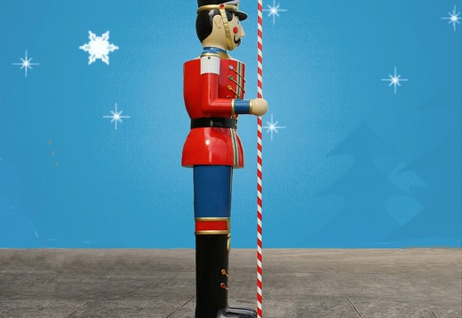 1583 6 FOOT TALL CHRISTMAS NUTCRACKER TOY SOLDIER 3