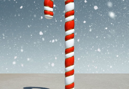 1587 6 FOOT CHRISTMAS CANDY CANE 2