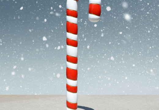1588 10 FOOT CHRISTMAS CANDY CANE 2