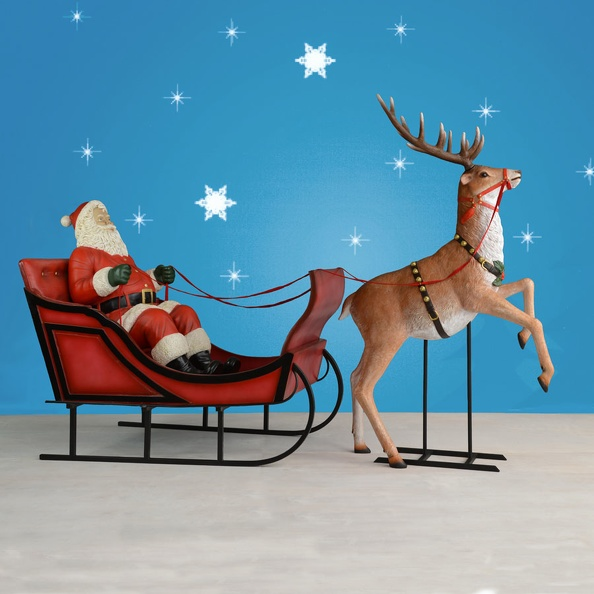 1596_SANTA_CLAUS_CHRISTMAS_SLEIGH_FATHER_CHRISTMAS_REINDEER.JPG