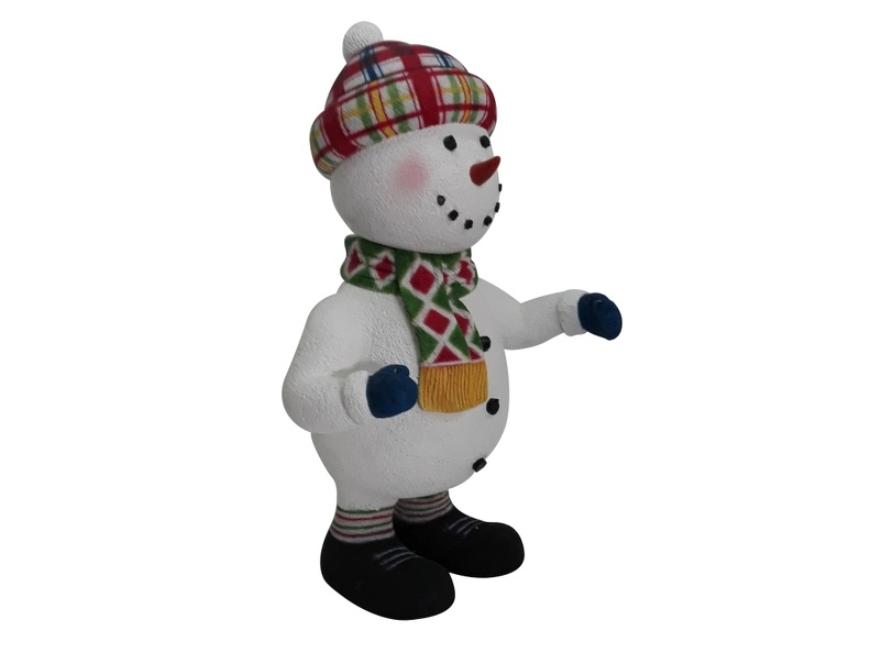 1644_CUTE_FUNNY_CHRISTMAS_SNOWMAN_STATUE_STANDING_2.JPG