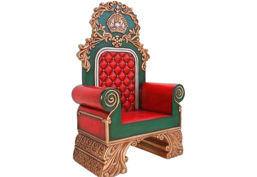 914 SANTAS CHRISTMAS THRONE FOR SANTA TO SIT ON 1