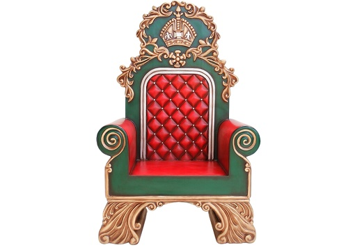 914 SANTAS CHRISTMAS THRONE FOR SANTA TO SIT ON 2