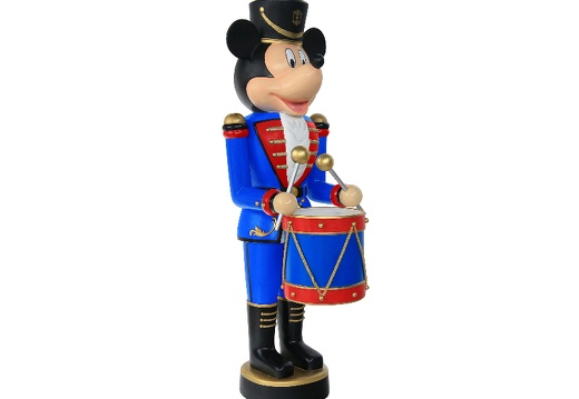 918  FUNNY MOUSE CHRISTMAS SOLDIER NUTCRACKER DRUM SET 6 5 FOOT 2
