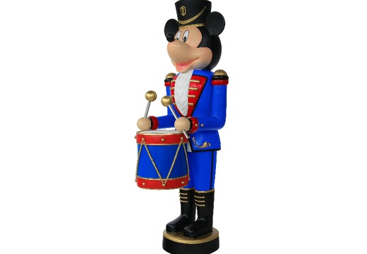 918  FUNNY MOUSE CHRISTMAS SOLDIER NUTCRACKER DRUM SET 6 5 FOOT 3