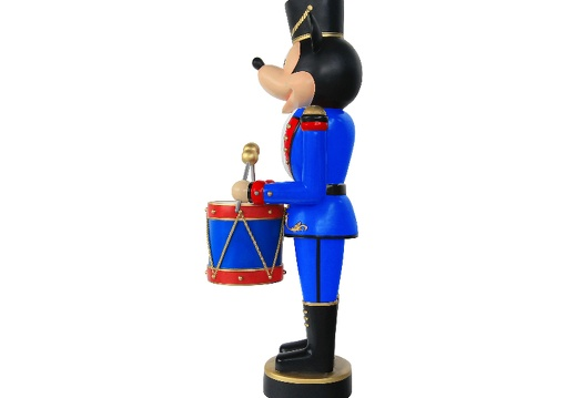 918  FUNNY MOUSE CHRISTMAS SOLDIER NUTCRACKER DRUM SET 6 5 FOOT 4