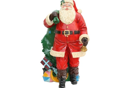 920 FATHER CHRISTMAS LIFE SIZE WITH PRESENT SACK 1