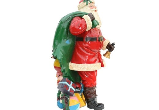 920 FATHER CHRISTMAS LIFE SIZE WITH PRESENT SACK 2
