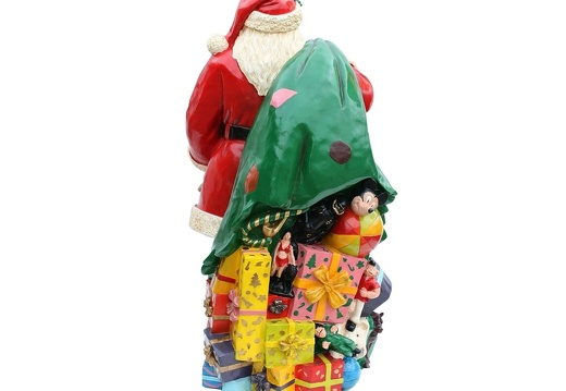 920 FATHER CHRISTMAS LIFE SIZE WITH PRESENT SACK 3