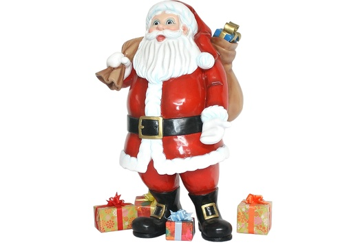921 SANTA CLAUS STANDING WITH PRESENTS 1