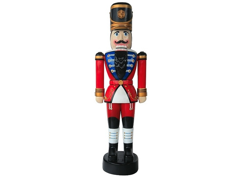 923_CHRISTMAS_RED_SOLDIER_NUTCRACKER_6_5_FOOT_1.JPG