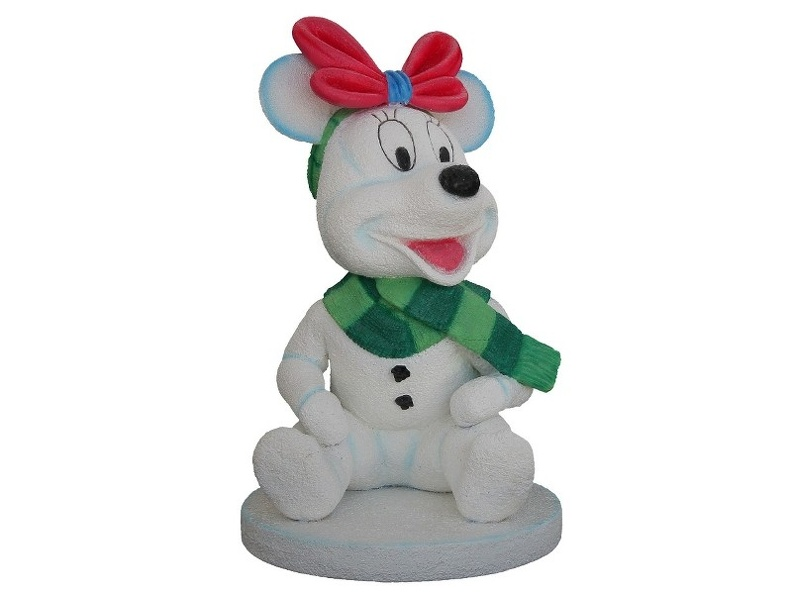 953_FUNNY_BABY_MOUSE_SNOWMAN_CHRISTMAS_STATUES_1.JPG