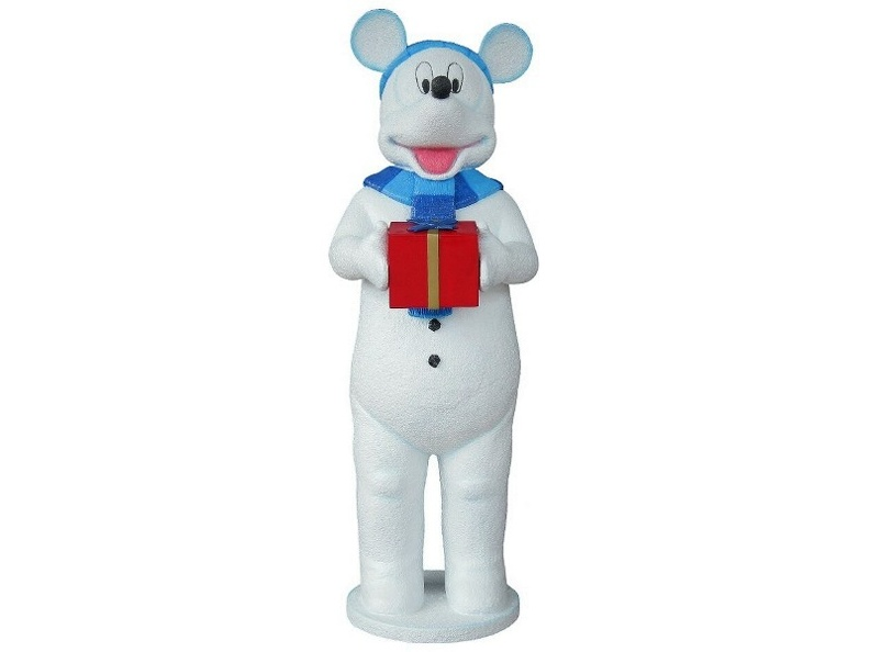 955_FUNNY_DADDY_MOUSE_SNOWMAN_CHRISTMAS_STATUES_1.JPG