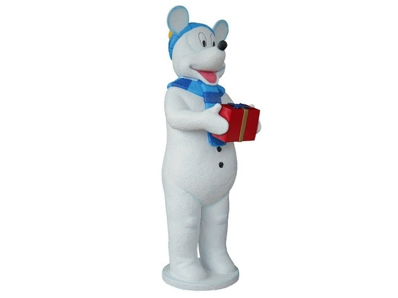 955_FUNNY_DADDY_MOUSE_SNOWMAN_CHRISTMAS_STATUES_2.JPG