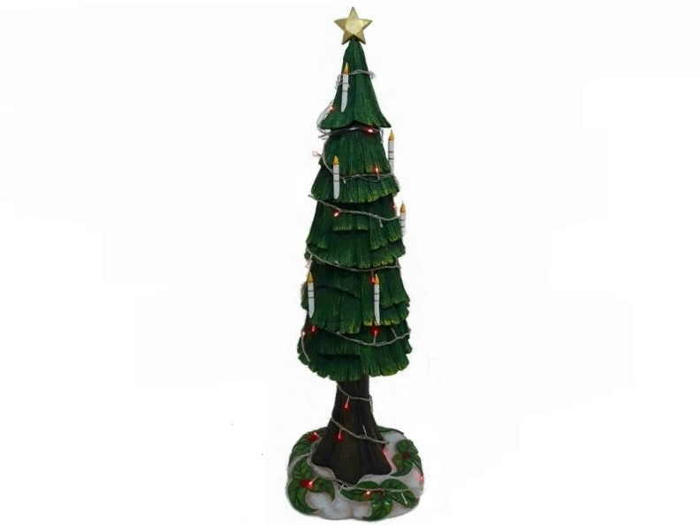 988_3D_CHRISTMAS_TREE_WITH_CANDLES_HOLLY_LEAVES_BASE_12_FOOT.JPG