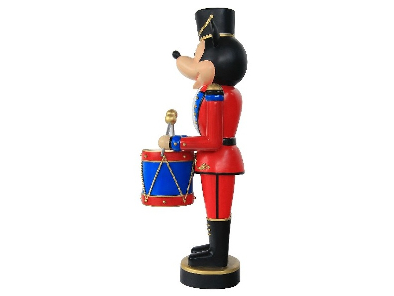 B0252_4_FOOT_FUNNY_MOUSE_CHRISTMAS_SOLDIER_NUTCRACKER_STATUE_DRUM_SET_4.JPG