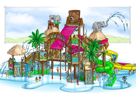 CONDRA1 CONCEPTUAL DRAWINGS RENDERS PLANS FOR WATER PARK THEME PARK PROJECTS 3D CUSTOM THEMING