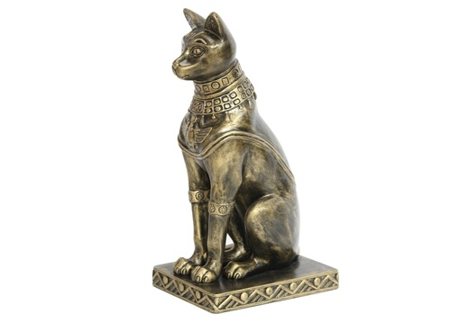 JBEGY002 GOLD EGYPTIAN PHARAOHS TEMPLE CAT 2