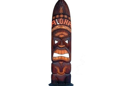 1522 TIKI MASK FIERGLASS RESIN 4 FOOT