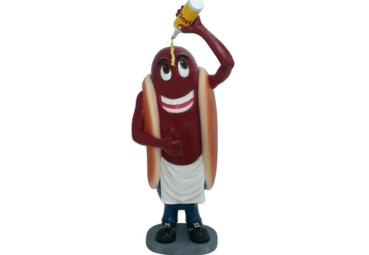 1517 HOT DOG ADVERTISING SIGN STATUE 1