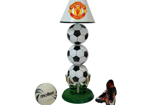 B0664 3 BALL FOOTBALL LAMP ALL TEAMS AVAILABLE