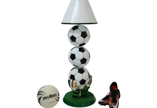 B0664 3 BALL FOOTBALL LAMP ALL TEAMS CLUBS AVAILABLE 2