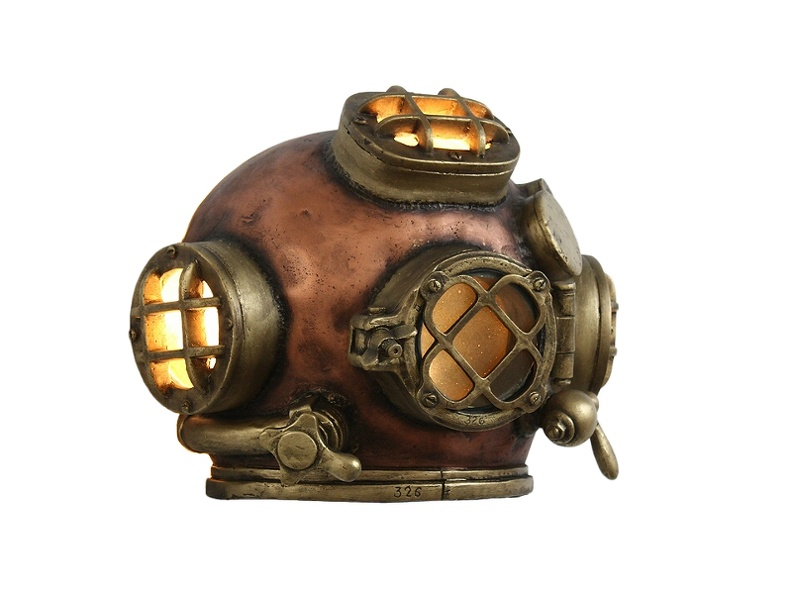 JJ577_HALF_VINTAGE_1943_SCHRADER_U.S_NAVY_MK_V_DIVING_HELMET_BUILT_IN_LAMP_WALL_MOUNTED_4.JPG
