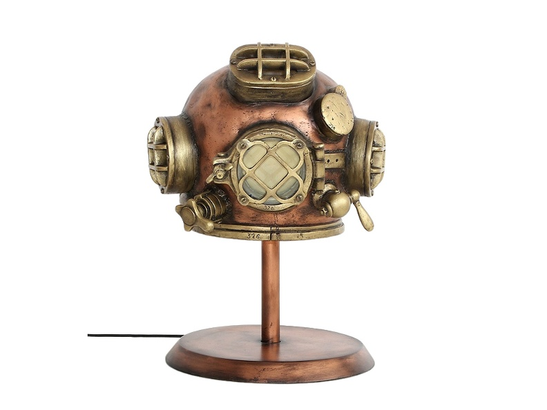 JJ656_VINTAGE_1943_SCHRADER_U.S_NAVY_MK_V_DIVING_HELMET_ON_WOOD_EFFECT_STAND_1.JPG