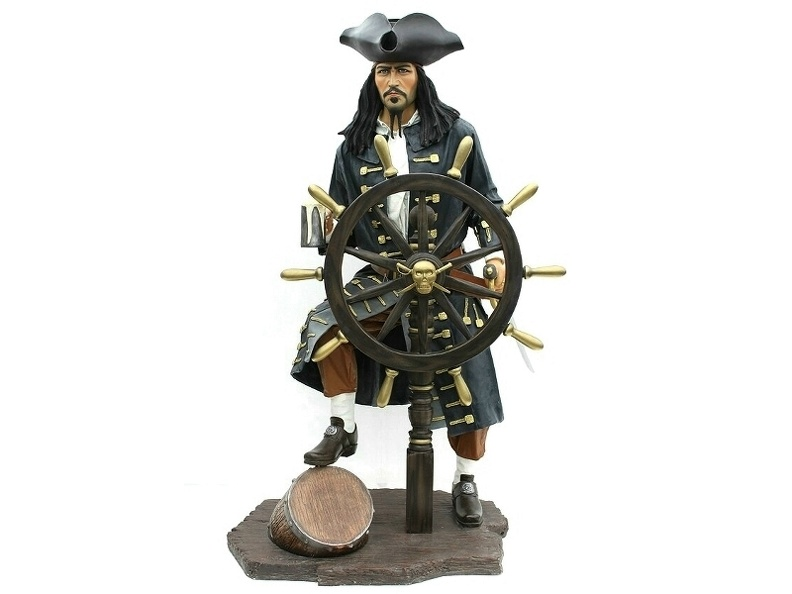 JBP006_LIFE_SIZE_JACK_SPARROW_PIRATE_WITH_SHIPS_WHEEL.JPG