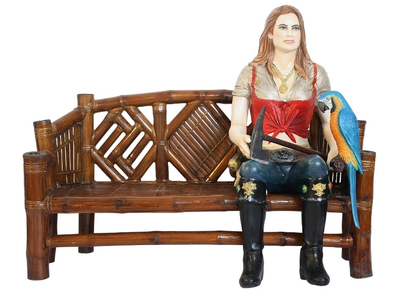 JBP076B_LIFE_SIZE_BLONDE_ANNE_BONNY_PIRATE_SAT_ON_BENCH_WITH_PARROT.JPG