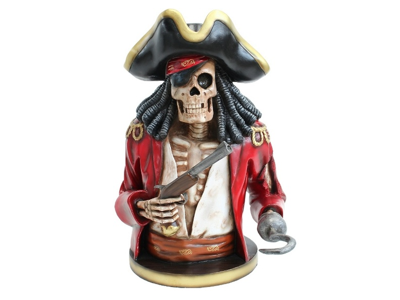 JBP150_LIFE_SIZE_JACK_SPARROW_SKELETON_PIRATE_BUST_RED_JACKET_1.JPG