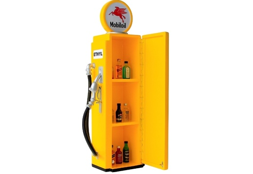 277 RETRO VINTAGE GAS PUMP ANY CUSTOM DESIGN COLOUR PAINTED 4
