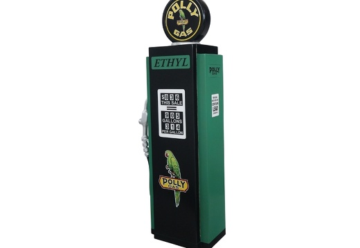 278 RETRO VINTAGE GAS PUMP ANY CUSTOM DESIGN COLOUR PAINTED 3