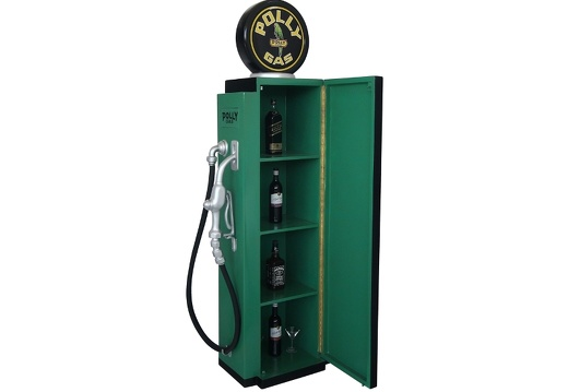 278 RETRO VINTAGE GAS PUMP ANY CUSTOM DESIGN COLOUR PAINTED 4