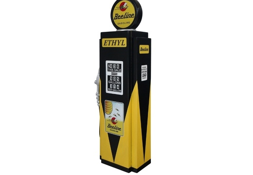 279 RETRO VINTAGE GAS PUMP ANY CUSTOM DESIGN COLOUR PAINTED 4