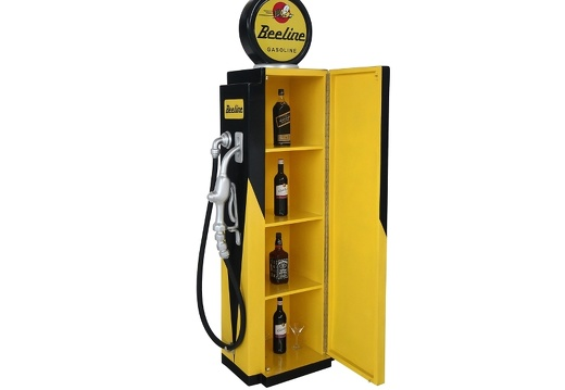 279 RETRO VINTAGE GAS PUMP ANY CUSTOM DESIGN COLOUR PAINTED 5
