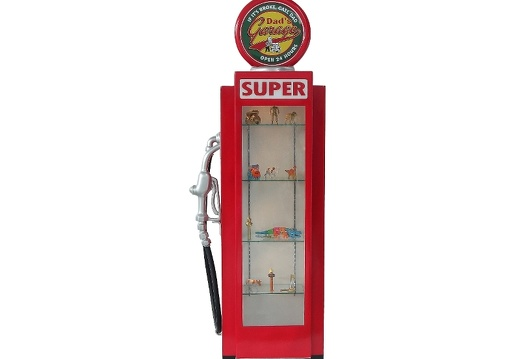 280 RETRO VINTAGE GAS PUMP ANY CUSTOM DESIGN COLOUR PAINTED 1
