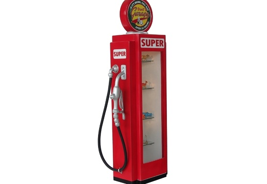 280 RETRO VINTAGE GAS PUMP ANY CUSTOM DESIGN COLOUR PAINTED 2